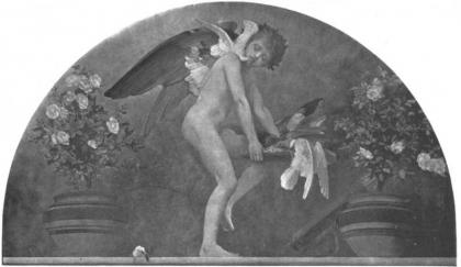 cupid in fresco