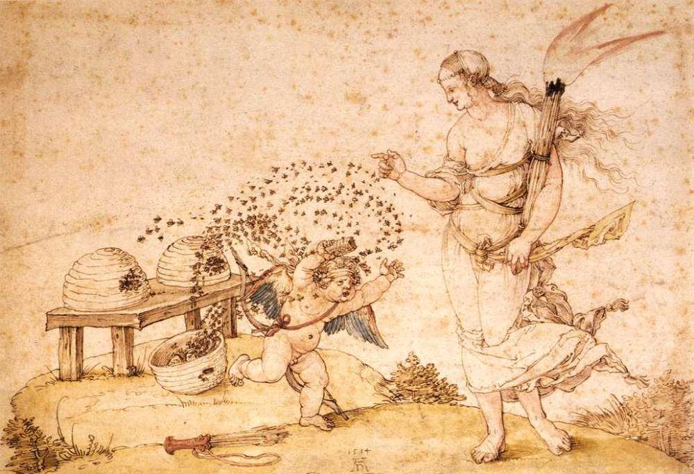 Durer-Cupid-the-Honey-Thief-1514_0